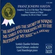 Symphonien Nr. 22 & 49: Haydn/Sinf.22+104/Klav.Konz., CD