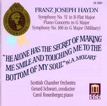 Joseph Haydn (1732-1809): Symphonien Nr.51 & 100, 8 CDs