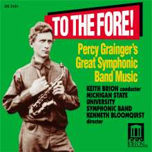 Percy Grainger (1882-1961): Symphonic Band Music of Percy Grainger, CD