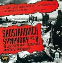 Dimitri Schostakowitsch (1906-1975): Symphonie Nr.8, CD