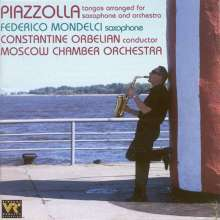Astor Piazzolla (1921-1992): Tangos arr.f.Saxophon & Orchester, CD