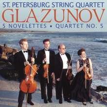 Alexander Glasunow (1865-1936): Streichquartett Nr.5, CD