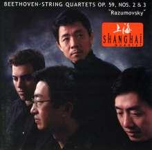 Ludwig van Beethoven (1770-1827): Streichquartette Nr.8 & 9, CD
