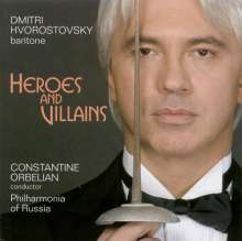 Dmitri Hvorostovsky - Heroes And Villains, CD