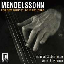 Gruber Emmanuel: Mendelssohn: Complete Music Fo, CD