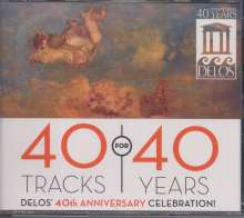 40 Tracks for 40 Years - Delos' 40th Anniversary Celebration, 3 CDs