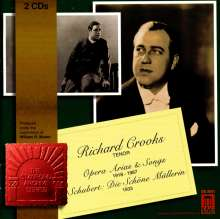 Richard Crooks singt Lieder & Arien, 2 CDs
