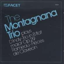 Vincent d' Indy (1851-1931): Trio für Klarinette,Cello & Klavier op.29, CD