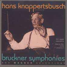 Anton Bruckner (1824-1896): Symphonien Nr.3-5,7-9, 6 CDs