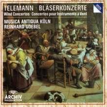 Georg Philipp Telemann (1681-1767): Bläserkonzerte, CD
