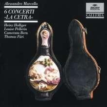 "Alessandro Marcello (1669-1747): Oboenkonzerte ""La Cetra"" Nr.1-6, CD"