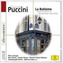Giacomo Puccini (1858-1924): La Boheme (Ausz.in dt.Spr.), CD
