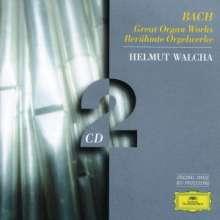 Johann Sebastian Bach (1685-1750): Toccaten & Fugen BWV 538,540,565, 2 CDs