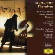 Franz Schubert (1797-1828): Fierrabras, 2 CDs