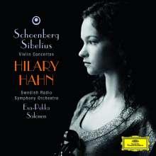Hilary Hahn spielt Violinkonzerte, CD