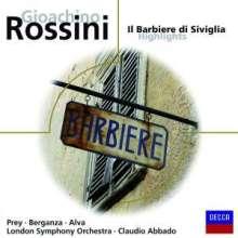 Gioacchino Rossini (1792-1868): Der Barbier von Sevilla (Ausz.), CD