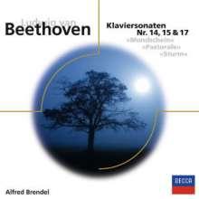 Ludwig van Beethoven (1770-1827): Klaviersonaten Nr.14,15,17, CD