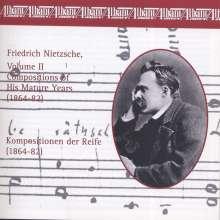 Friedrich Nietzsche (1844-1900): Werke Vol.2 (Kompositionen der Reife 1864-82), CD