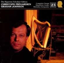 Franz Schubert (1797-1828): Sämtliche Lieder 23, CD