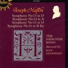 Joseph Haydn (1732-1809): Symphonien Nr.13-16, CD