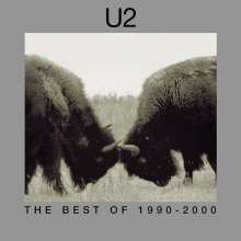 U2: The Best Of 1990 - 2000, CD