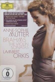 Johannes Brahms (1833-1897): Sonaten für Violine & Klavier Nr.1-3, DVD