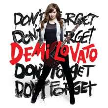 Demi Lovato: Don't Forget, CD