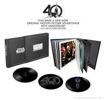 Filmmusik: Star Wars: A New Hope - 40th Anniversary Box Set (Limited-Edition) (Vinyl w/ 3D-Hologram)