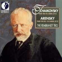 Anton Arensky (1861-1906): Klaviertrio Nr.1 op.32, CD