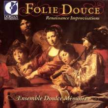 Folie Douce - Renaissance Improvisations, CD