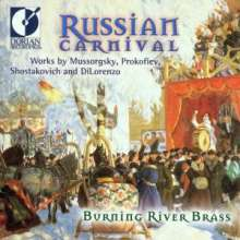 Burning River Brass - Russian Carnivals, CD