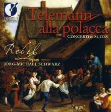 Georg Philipp Telemann (1681-1767): Suite für Flöte & Streicher a-moll, CD