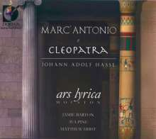 Johann Adolph Hasse (1699-1783): Marc' Antonio & Cleopatra, 2 CDs