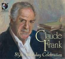 Claude Frank - 85th Birthday Celebration, 2 CDs