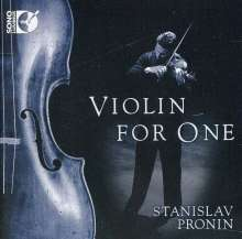 Stanislav Pronin - Violin For One, CD