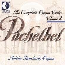 Johann Pachelbel (1653-1706): Sämtliche Orgelwerke Vol.2, CD