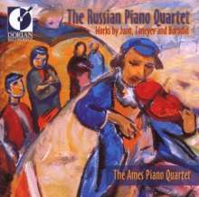 Russian Piano Quartet, CD