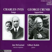 George Crumb (geb. 1929): Apparition f.Sopran & Klavier, CD