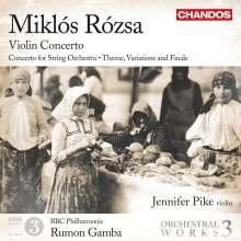 Miklós Rózsa (1907-1995): Orchesterwerke Vol.3, CD
