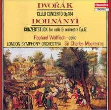 Ernst von Dohnanyi (1877-1960): Konzertstück f.Cello & Orchester op.12, CD