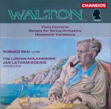 William Walton (1902-1983): Violakonzert, CD