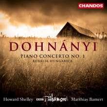 Ernst von Dohnanyi (1877-1960): Klavierkonzert Nr.1 op.5, CD