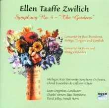 """Ellen Taaffe Zwilich (geb. 1939): Symphonie Nr.4 """"The Gardens"""", CD"""
