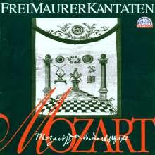Wolfgang Amadeus Mozart (1756-1791): Freimaurermusik, CD