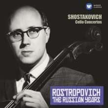 Dmitri Schostakowitsch (1906-1975): Cellokonzerte Nr.1 & 2, CD