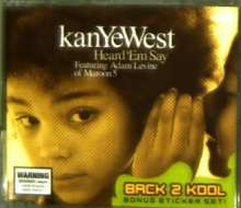Kanye West: Heard 'em Say, Maxi-CD