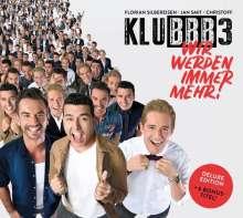 Klubbb3: Wir werden immer mehr! (Deluxe-Edition), CD