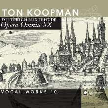 Dieterich Buxtehude (1637-1707): Opera Omnia XX (Vokalwerke 10), 2 CDs