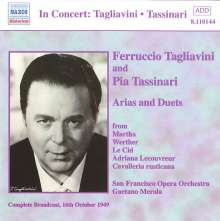 Ferruccio Tagliavini & Pia Tassinari - Arien & Duette, CD