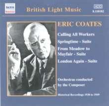 Eric Coates (1886-1957): Coates dirigiert Coates Vol.2, CD